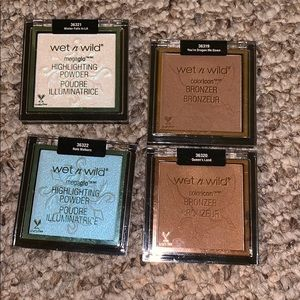 Wet n wild bronzers & highlighters